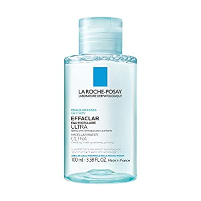 La Roche-Posay Effaclar Micellar Cleansing Water and Makeup Remover for Oily Skin