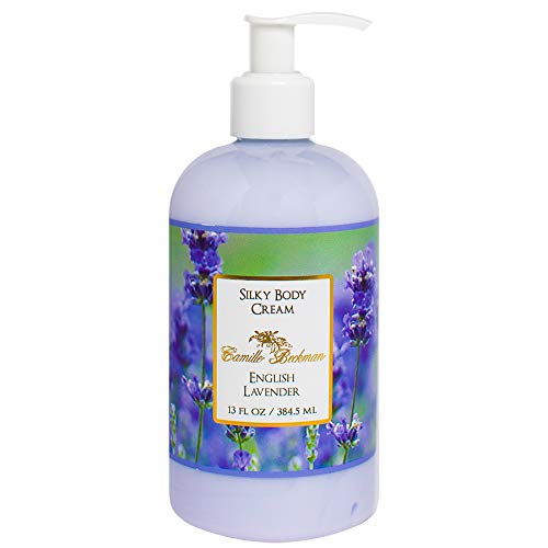 (Camille Beckman Silky Body Cream, English Lavender, 13 Ounce)