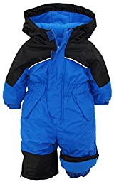 iXtreme Baby Boys\' One Piece Snowmobile Snowsuit, Royal, 18 Months