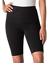 Women's Plus Size Bike Shorts In Comfy Stretch Fabric