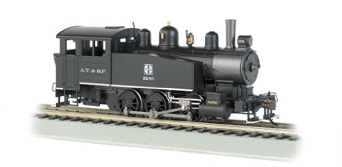 Bachmann Industries 060 Porter Side Tank Dcc Equipped Locomotive Santa Fe # 2240 HO Scale Train (Switcher Santa)