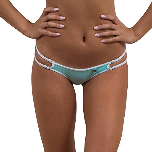 Wicked Weasel Sexy Mojito   Cheeky Brazilian Bikini Bottom  255  Womens Swimwear  Large  Mojito