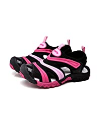 Kids Summer Sport Quick Dry Closed-Toe Athletic Sandals for Boys and Girls