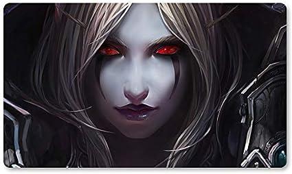 Warcraft53 – Juego de mesa de Warcraft tapete de mesa Wow juegos teclado Pad Tamaño 60 x 35 cm World of Warcraft Mousepad para Yugioh Pokemon MTG o TCG: Amazon.es: Oficina y papelería