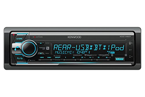 Kenwood Excelon KDC-X501 CD Receiver with Built in Bluetooth (2001 Toyota Sequoia Cd Player)