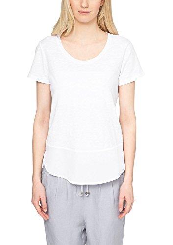 s.Oliver 14.503.32.2189 - Camiseta Mujer Weiß (white 0100)