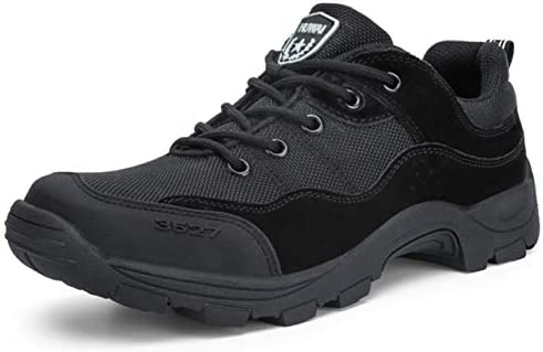 [ライジングサン] アウトドアハイキングシューズ メンズ ローカット 軍靴 タクティカル 戦術的な靴 ジャングルブーツ 戦闘靴 狩猟靴 トレッキング 徒歩 スポーツシューズ サバゲー ブーツ 防滑 厚い靴底 通気性