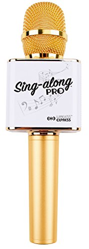 Sing-along PRO Bluetooth Karaoke Microphone and Bluetooth Stereo Speaker All-in-one (Sing Along Microphone)