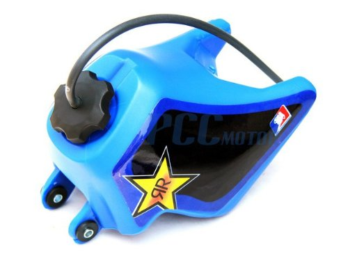 4L BLUE GRAPHICS DECAL PLASTIC SEAT KIT YAMAHA PW50 PW 50 PEEWEE DE43+