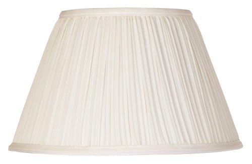 Downbridge Antique White Pleated Shade 6.5x12x7.5 (Uno)