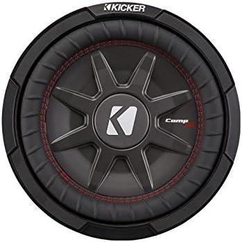 Kicker 43CWRT101 10 Dual Voice Coil 1 ohm Slim line Truck woofers Bundle