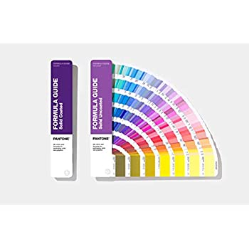 Pantone GP1601A Coated and Uncoated Formula Guide - 2019 Edition