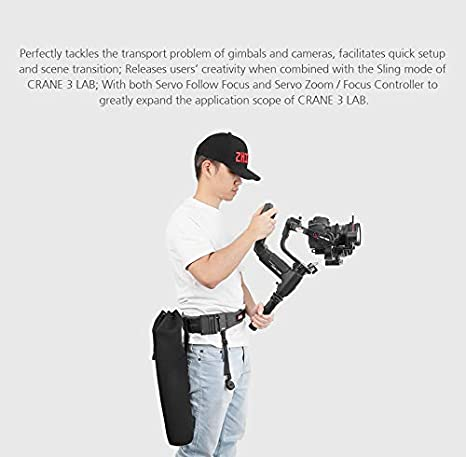 ? Standard Pakege Zhiyun Crane 3 LAB 3-Axis Handheld Stabilizer Gimbal Redefine Stabilizer 4.5KG Payload for All Almost Mirrorless Cameras DSLRs,Versatile Structure,Wireless Image Transmission ViaTouch