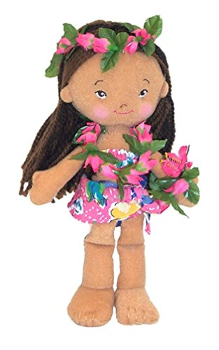 8.5 inch Soft Hawaiian Doll - Malia