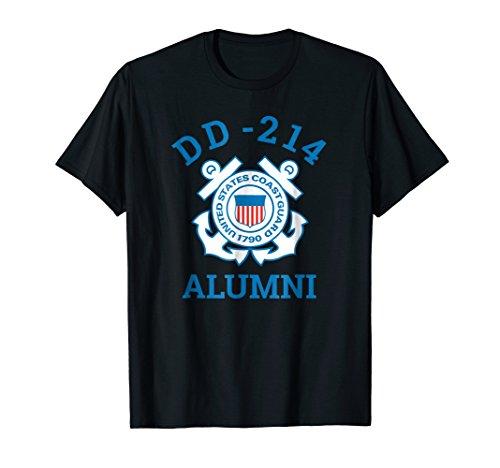 (Coast Guard Veteran Shirt DD-214 Alumni Tee)