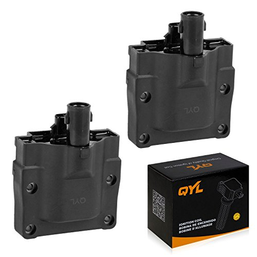 (2Pcs Ignition Coil Pack Replacement for Toyota 4Runner Camry MR2 Pickup T100 LS400 SC400 C72 UF72)