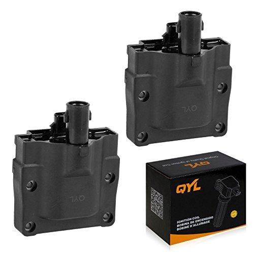 Mr2 Ignition Coil - QYL Ignition Coil for Lexus LS400 SC400 Toyota 4Runner Toyota MR2 Pickup T100 Camry 2.0L 2.2L 2.4L I4 3.0L V6 4.0L V8 UF72 5C1194(Pack of 2 )