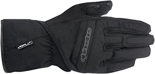 Alpinestars Men's Men&rsquo,s SR-3 Drystar Black Gloves 3310-0549