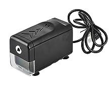 ARPAN - Sacapuntas eléctrico automático con enchufe británico, color negro