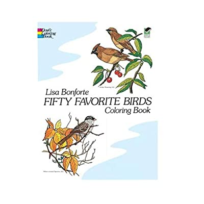 Dover Coloring Book 50 Favorite Birds: Toys & Games [5Bkhe1002549]
