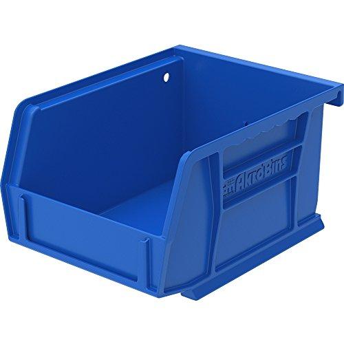 Akro-Mils 30210B Bins, Unbreakable/Waterproof, 4-1/8