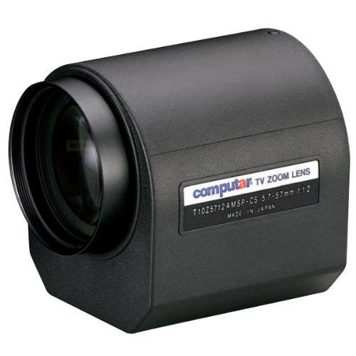 Computar T10Z5712AMSP 1/3-in 10X Motorized Zoom Lens (CS-Mnt)