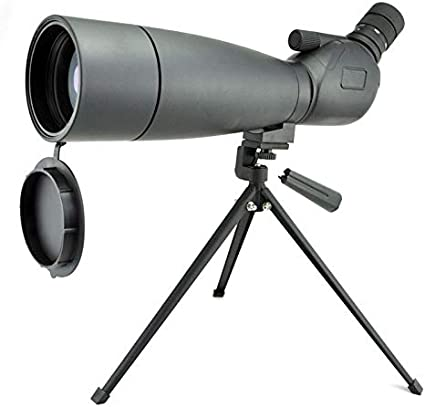 Amazon.com: Visionking Spotting Scope 20-60x80 Monocular Telescope for Waterproof Bak4 with Tripod: Camera & Photo