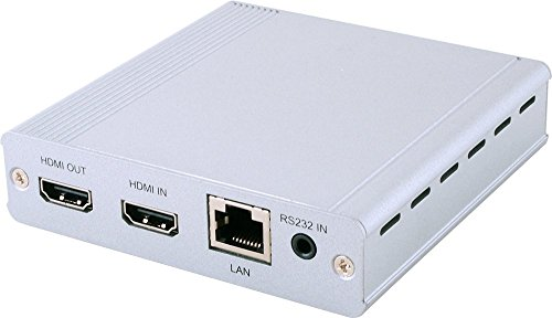 1x2 HDMI Over HDMI and CAT5e/6/7 Splitter with PoE/LAN