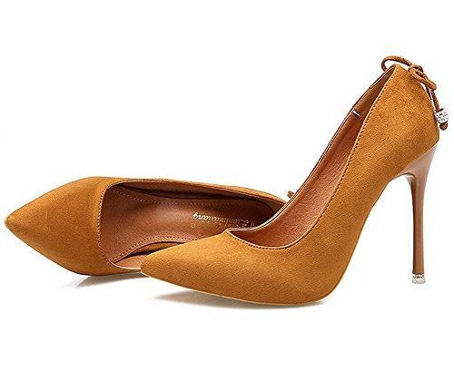 Ladoladgug00267 Chaussures femmes pour fermées Gelb rAXOzXn
