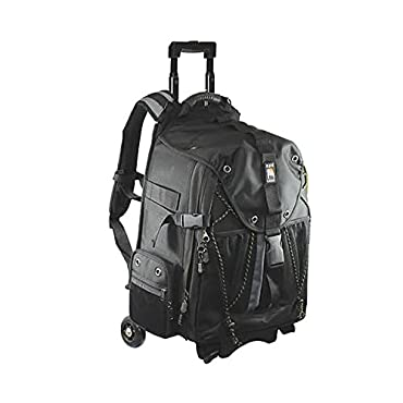 Ape Case, ACPRO4000, Backpack with wheels, Laptop compartment, Padded, Rain cover included, Adjustable straps, Camera backpack, Black (ACPRO4000)