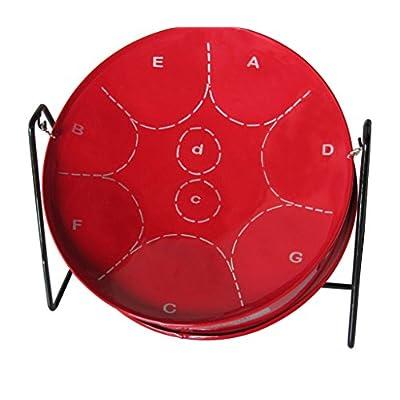 Panland Trinidad & Tobago - Red Pitipan Steelpan MIPI04R - Steel Drum: Musical Instruments