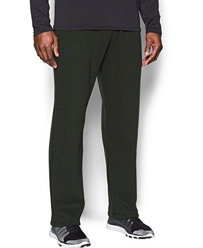 Under Armour Men's Rival Fleece Pants, Artillery Green/Black, X-Large