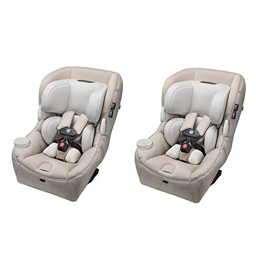 Maxi-Cosi Pria 85 Max Convertible 5-85 lb. Baby Infant Car Seat, Nomad Sand (2 Pack)