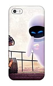 Top Quality Case Cover For Iphone 5/5s Case With Nice Wall E Eve Appearance