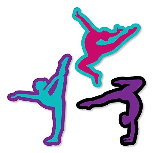 Big Dot of Happiness Tumble, Flip & Twirl - Gymnastics - DIY