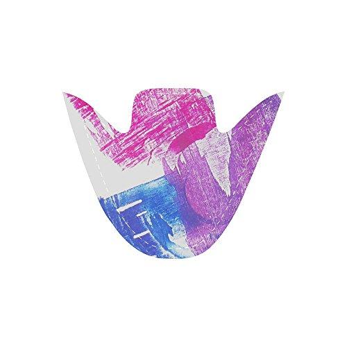 Slip Con Motivo Floreale Su Scarpe Di Tela Colorate Per Donna