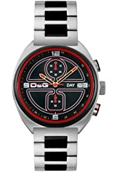 D&G Dolce & Gabbana Men's DW0303 Song Collection Chronograph Watch