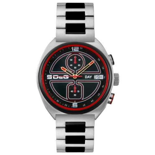 D&G Dolce & Gabbana Men's DW0303 Song Collection Chronograph - New Collection Gabbana Dolce