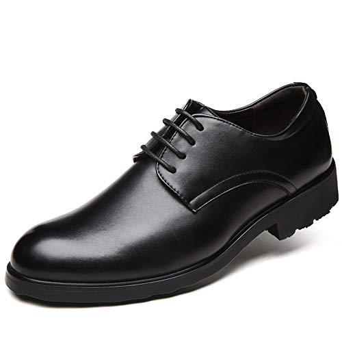 Casual Formali Hilotu Stile Semplici Signori Eleganti Lavoro Britannico Di Oxfords Da Uomo Nero Comode Scarpe pxASBxI