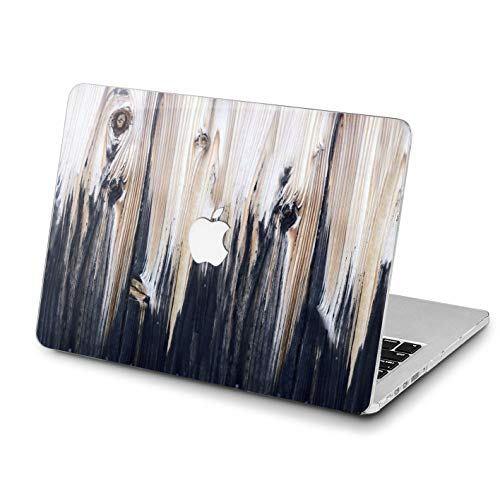 Lex Altern MacBook Beautiful Wooden Case Pro 15 inch Air 13 12 11 2018 Mac A1990 A1708 Light Weight Retina Cover White Nature Hard Apple 2017 2016 Protective Print Touch Bar Durable 2015 Black Unique ()