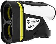TecTecTec ULT-X High-Precision Golf Rangefinder, Laser Range Finder Binoculars with 6X Magnification, Slope Mo