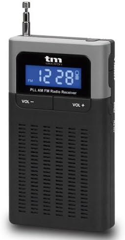 TM Electron TMRAD202 - Radio portátil Digital PLL FM/Am, Color Negro: Amazon.es: Electrónica