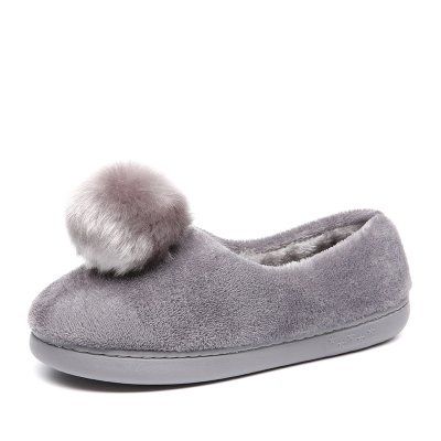LaxBa Femmes Hommes Chaussures Slipper antiglisse intérieur 40 gris