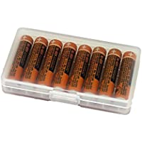 8pcs AAA battery for HHR-55AAABU For Panasonic Cordless Phone 1.2V 550mAh Original New Rechargeable NI-MH