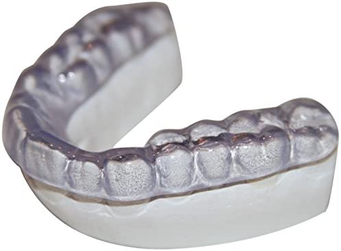 Dental Lab Custom Teeth Night Guard - Medium Firmness(not a hard guard) LOWER TEETH - Protect Teeth From Grinding, Clenching, Bruxism - Medium Density - Soft but Strong Teeth Mouth Guard