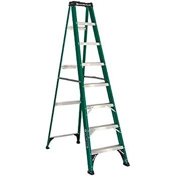 Louisville Ladder FS4008 Fiberglass Step Ladder, Type II, 8-Foot, 225-Pound Capacity