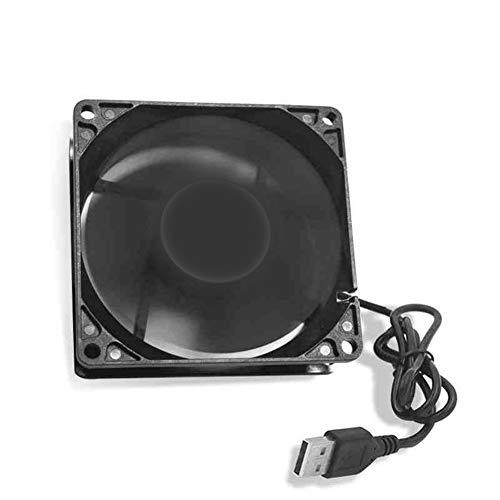 9OVE, USB Cooling Fan, Low Noise, Heat Dissipation, Cooler 12cm 1200RPM 5V for PC Computer Case Router Set-top Box