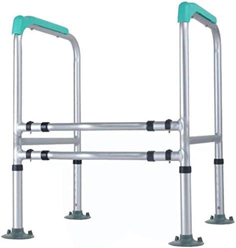 GBX Beweglich Faltbare Durablefolding Potty Wc Stuhl, Medical Bedside Commodes Chair (Aluminium-Legierung + Kunststoff) Mit Armlehnen, Für Mobilität Und Komfort, Hygiene Bad Aid