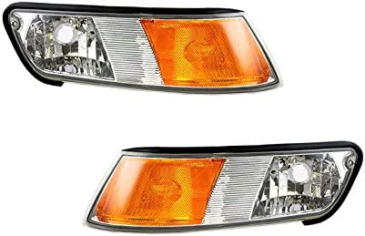 NEW PAIR TURN SIGNAL LIGHTS FITS MERCURY GRAND MARQUIS FO2551124 XW3Z-15A201-BB