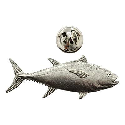 hot sell Bluefin Tuna Pin ~ Antiqued Pewter ~ Lapel Pin ~ Sarah's Treats & Treasures hot sale